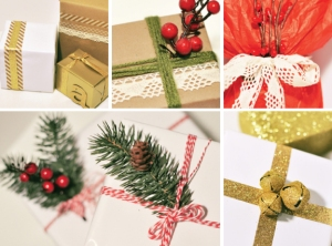 DIY Christmas Gift Wrap