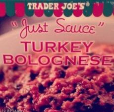 Turkey Bolognese