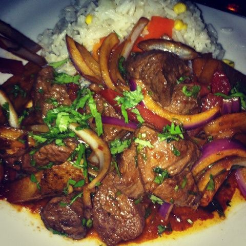 Lomo Saltado at Jaguar Miami