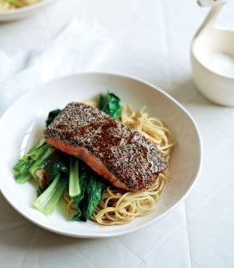 Chia Crusted Salmon