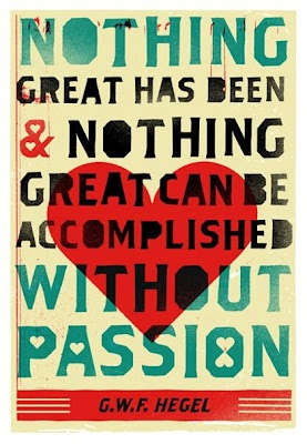 Be passionate in all that you do