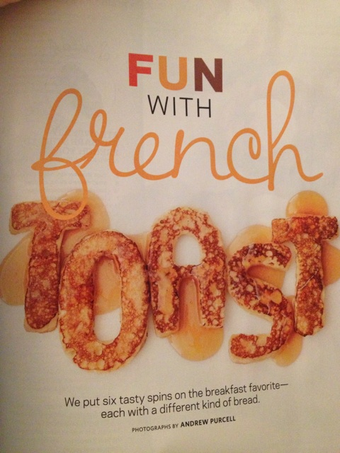 Fun with French Toast