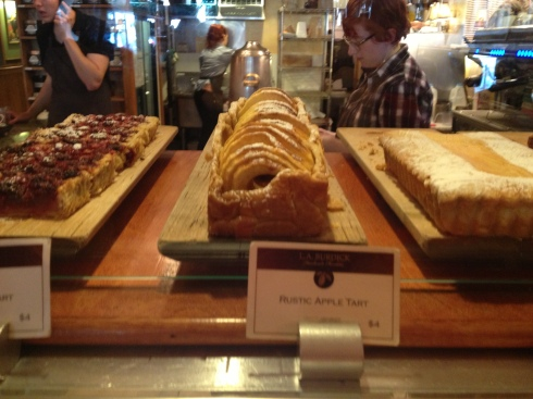 Pastries at LA Burdick