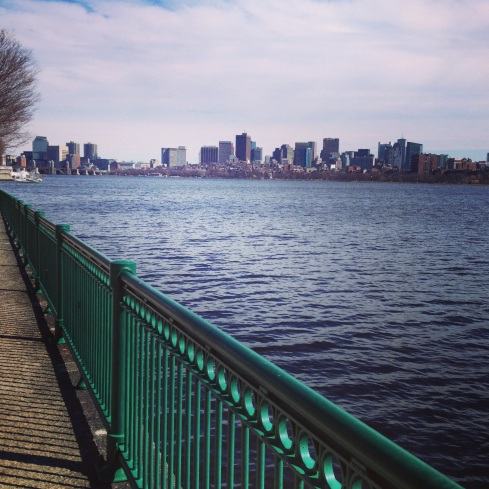 Run along the Charles River