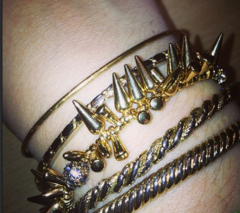 Arm Party thanks to give away from Stella & Dot