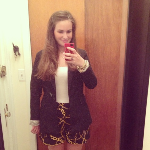 My shnazzy JCPenney outfit