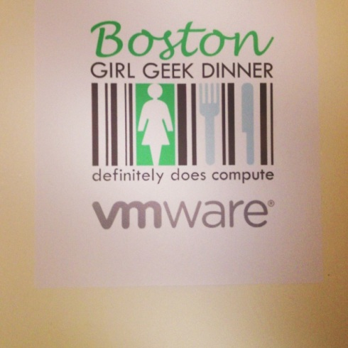Boston Girl Geek Dinner