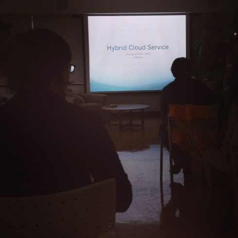 1st Girl Geek Dinner Talk: Hybrid Cloud Service