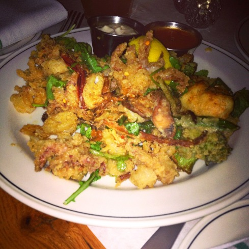 Crispy Calamari at Beat Hotel