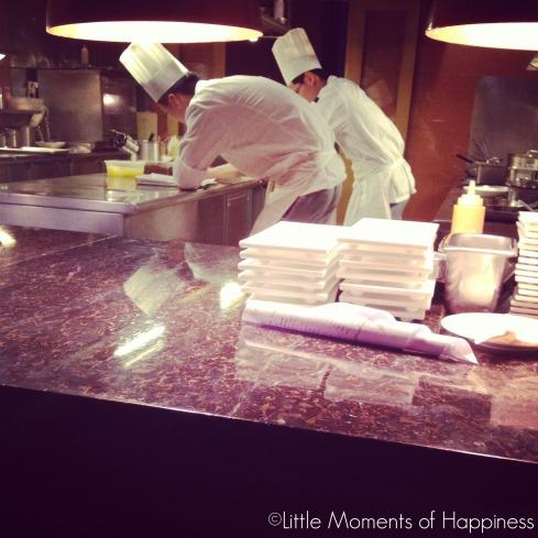 Open Kitchen at Nougatine Shanghai
