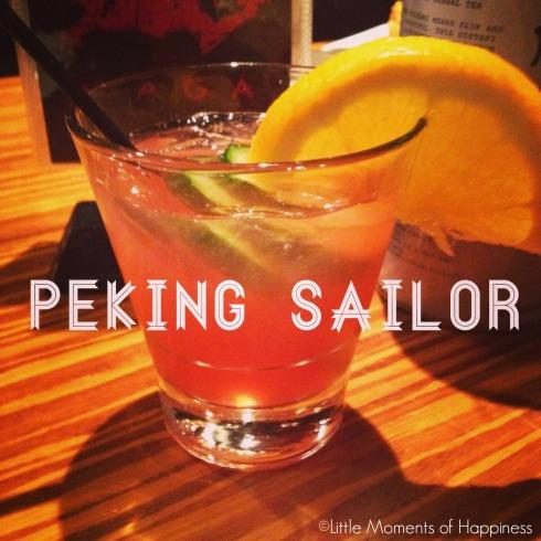 Peking Sailor at Moksa Cambridge