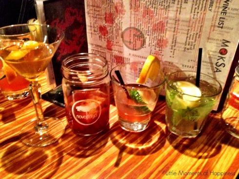 Drinks for Days at Moksa Boston