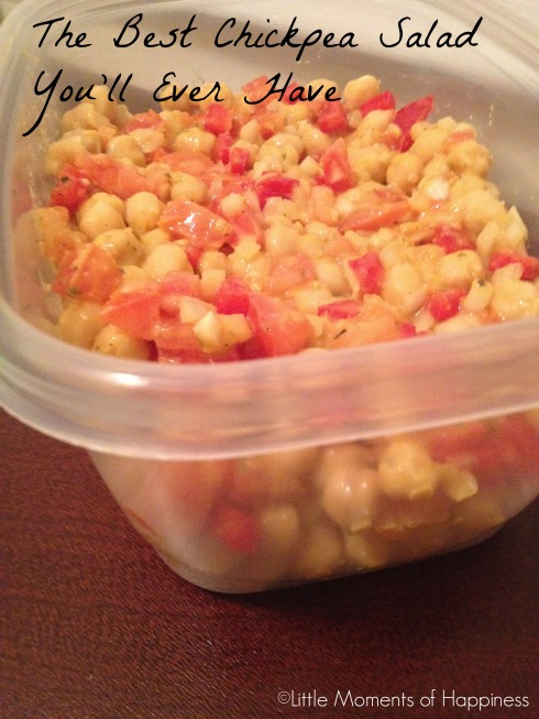 The Best Chickpea Salad You'll Ever Have