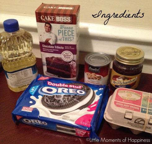 Ingredients Better than Anything Oreo Cake
