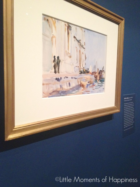 Venice Collection at John Singer Sargent's Watercolors at the MFA