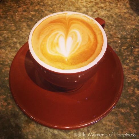 Coffee at Crema Cafe