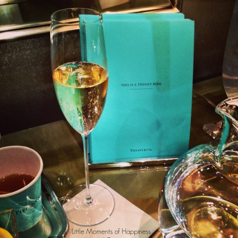 A Little Bubbly at Tiffany & Co. Copley