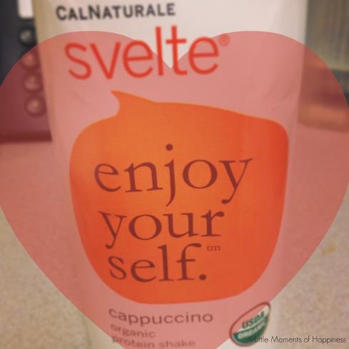 Cappuccino Svelte Organic Protein Shake