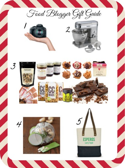 Food Blogger Gift Guide