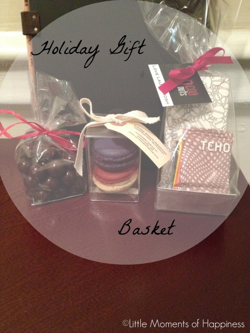 Holiday Gift Basket from Cocoanut Boston
