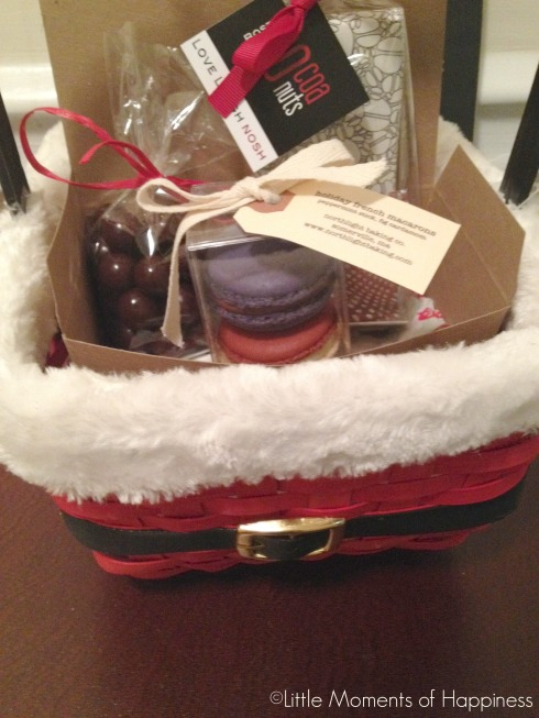 Holiday Gift Basket from Cocoanuts Boston