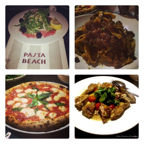 Pasta Beach Food