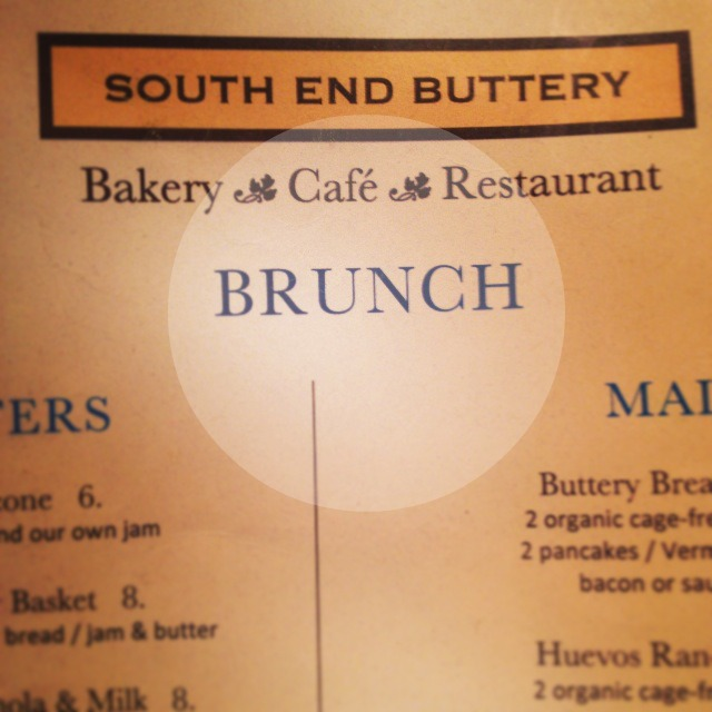 South End Buttery Brunch