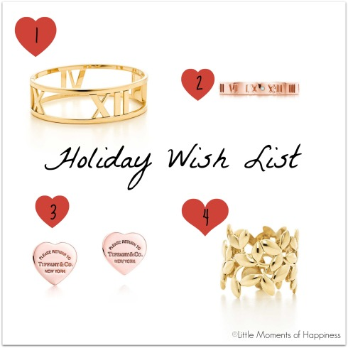 Tiffany & Co. Wish List