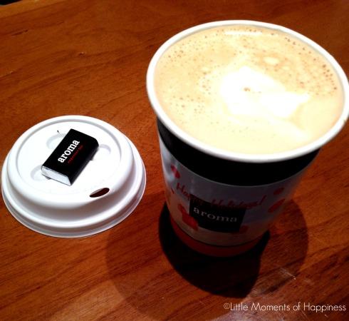 Cappuccino at Aroma Espresso Bar at Dadeland Mall