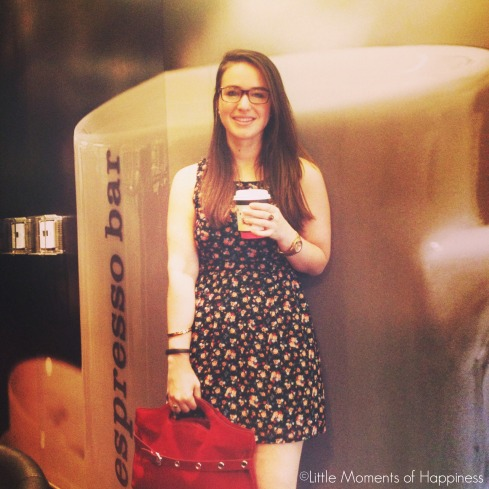 Me at Aroma Espresso Bar at Dadeland Mall