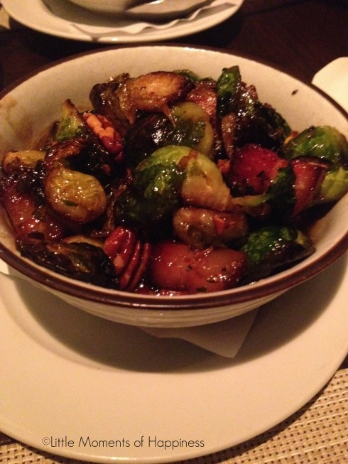 Brussel Sprouts at J&G Grill