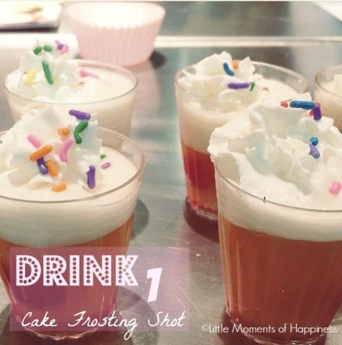 Cake Frosting Shot