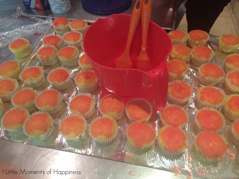 Spring Break Cupcakes