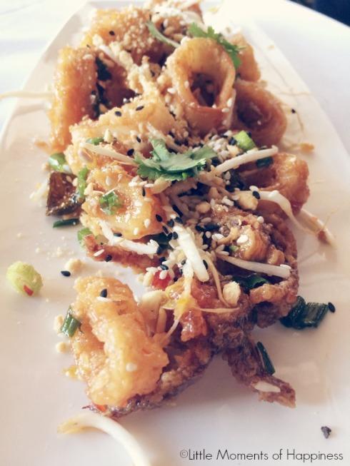 Shanghai Style Fried Calamari